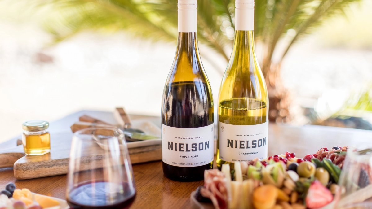 Nielson wine with food