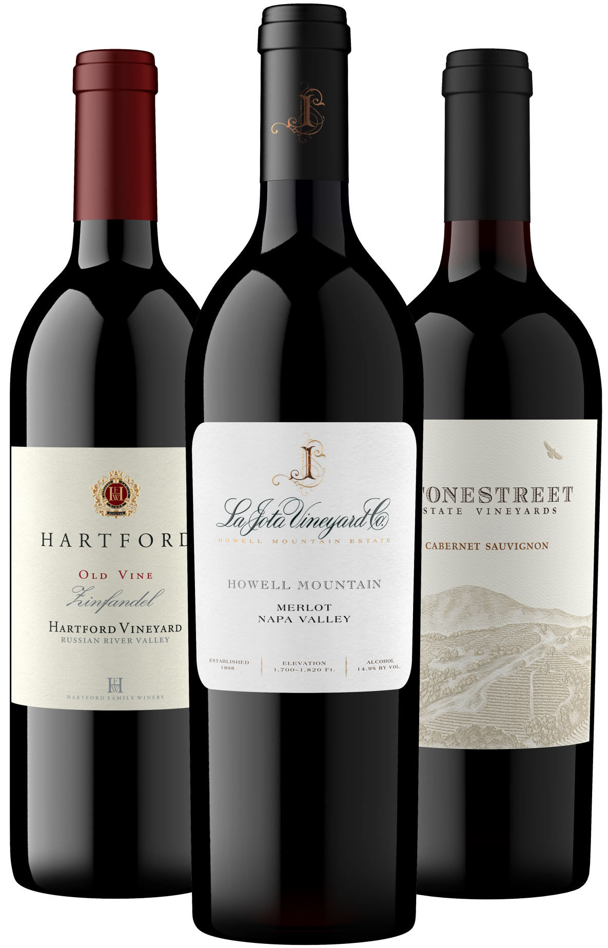 YourWineStore Father's Fay Favorites 3-Bottle Gift Set
