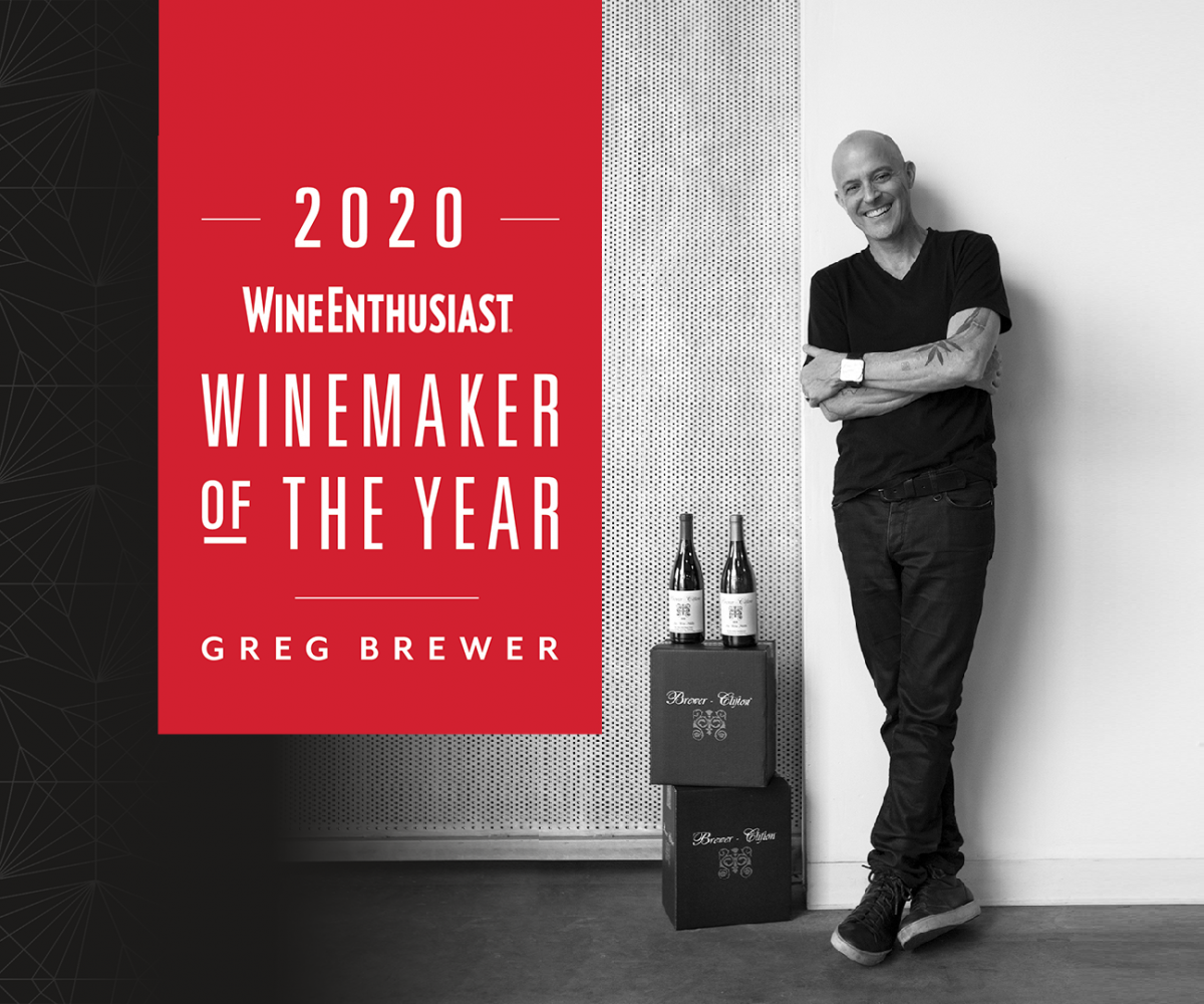 Greg Brewer 2020 Winemaker of the Year