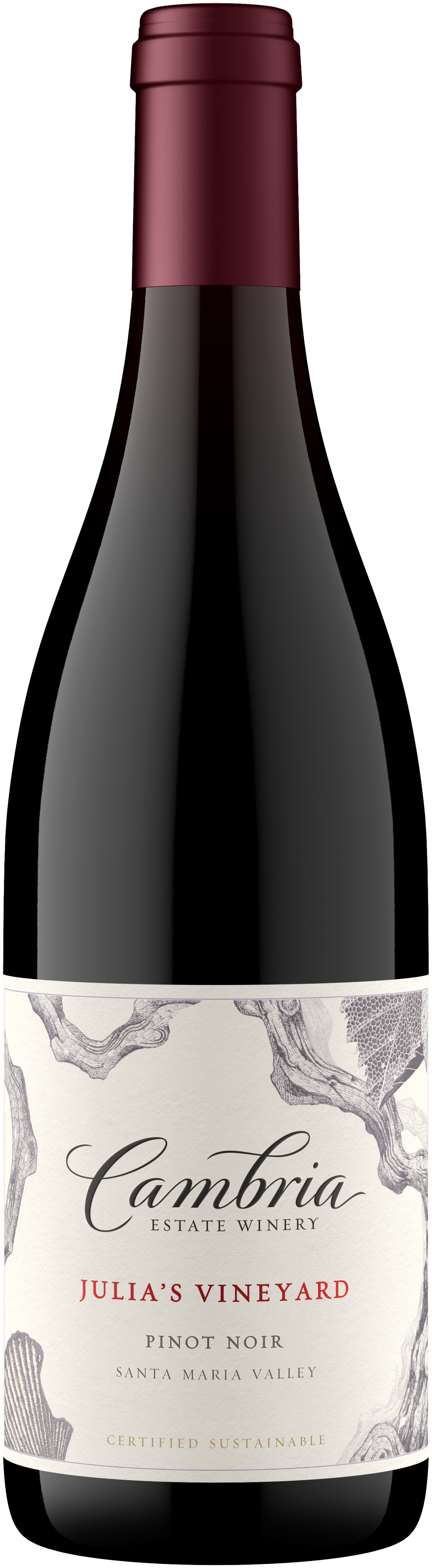 Pinot Noir wine bottle