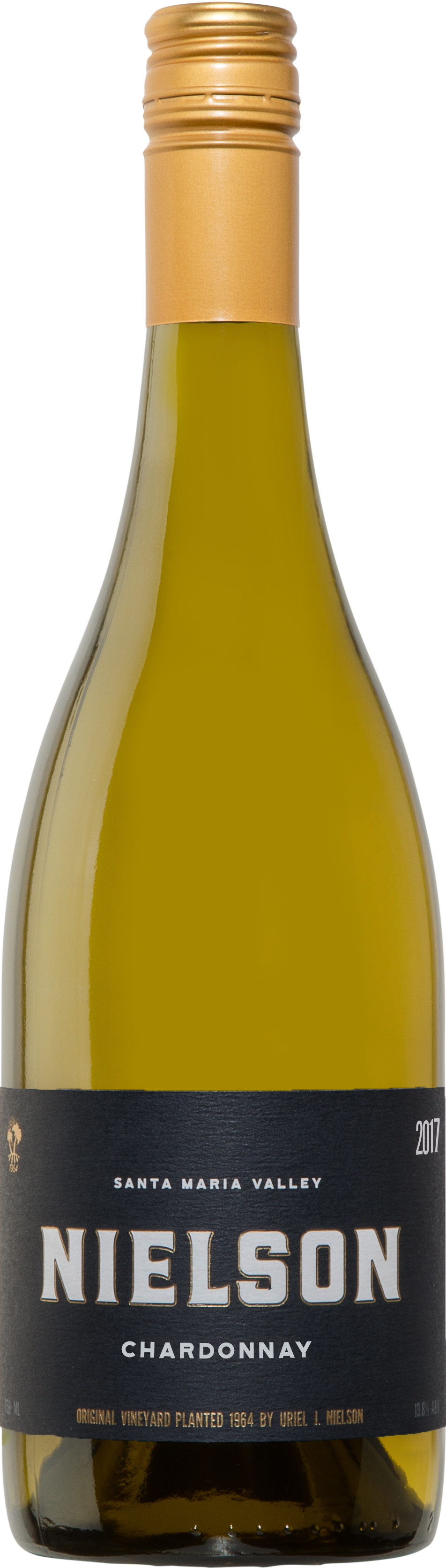 Nielson Chardonnay Bottle Shot